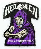 Helloween - 'Walls of Jericho' Embroidered Patch